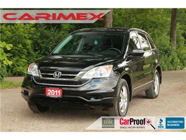 2011 HONDA CR-V EX   AWD   CERTIFIED + E-Tested in Kitchener, Ontario