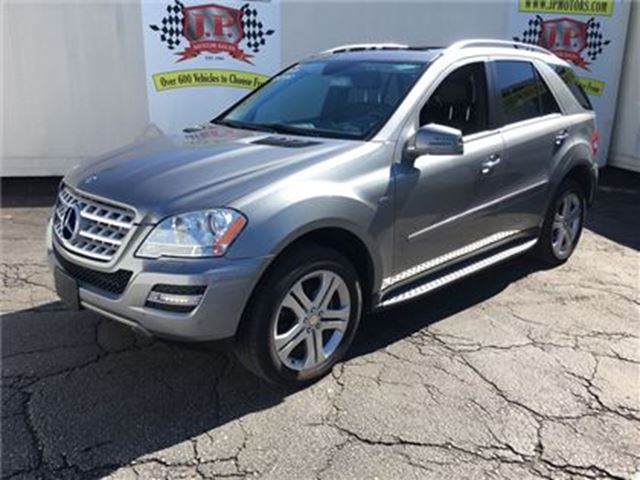 2011 MERCEDES-BENZ M-CLASS 350 BlueTEC, Nav, Leather, Sunroof, Diesel, AWD in Burlington, Ontario