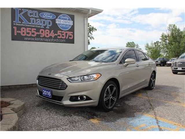 2016 Ford Fusion Titanium NAV SYNC AWD SUNROOF in Essex, Ontario