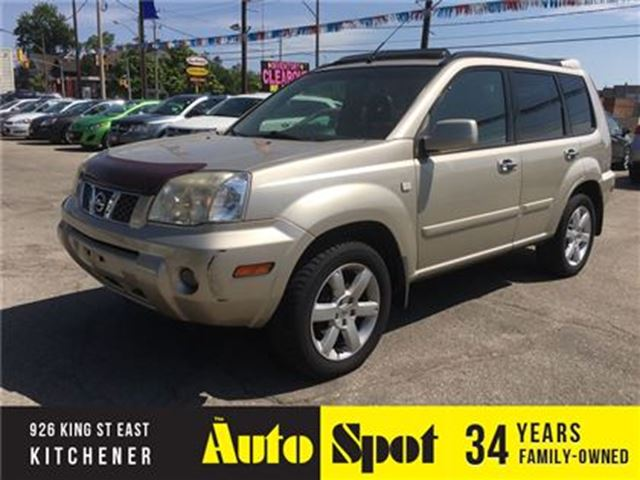 2006 Nissan X-Trail LE/LEATHER-LOADED/PRICED FOR A QUICK SALE! in Kitchener, Ontario