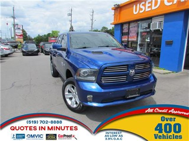 2014 Dodge RAM 1500 SPORT   HEMI   2 LIFT KIT   BACKUP CAM in London, Ontario