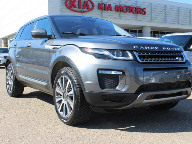 2016 LAND ROVER RANGE ROVER EVOQUE PANORAMIC SUNROOF, HEATED SEATS, BACKUP CAMERA, NAVIGATION, POWER SEATS, in Edmonton, Alberta