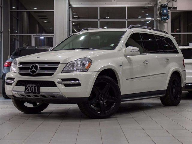 2011 MERCEDES-BENZ GL-CLASS GL 350 BlueTEC 4MATIC in Kelowna, British Columbia