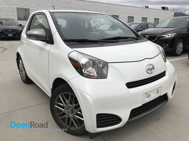 2012 Scion iQ No Accident Local A/T Bluetooth USB AUX TCS ABS in Port Moody, British Columbia