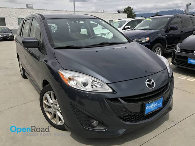 2012 MAZDA MAZDA5 GT A/T No Accident Local Bluetooth Cruise Contr in Port Moody, British Columbia