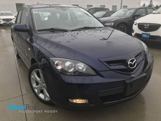 2008 MAZDA MAZDA3 GT A/T No Accident Leather sunroof Bose Audio S in Port Moody, British Columbia