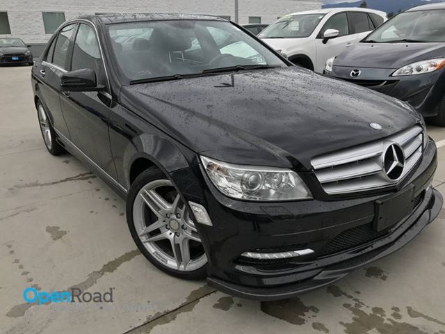 2011 Mercedes-Benz C-Class C 350 RWD A/T Local Bluetooth Leather Sunroof N in Port Moody, British Columbia