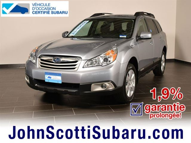 2012 Subaru Outback Convenience EXTENDED WARRANTY in St Leonard, Quebec