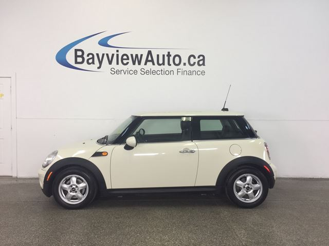 2010 MINI COOPER  - LEATHER! ALLOYS! A/C! FULL PWR GROUP! in Belleville, Ontario