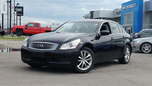 2009 INFINITI G37 x AWD, NAV, LEATHER, NO ACCIDENT in Newmarket, Ontario