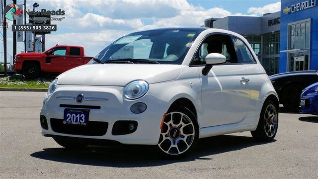 2013 FIAT 500 Sport Sport, Roof, Alloys, ONE OWNER in Newmarket, Ontario