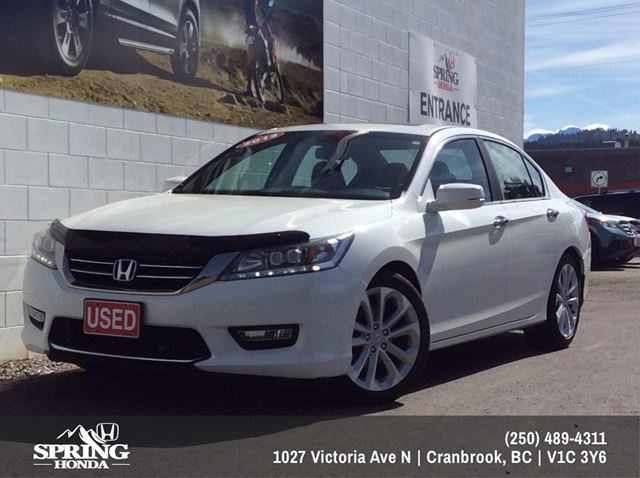 2013 Honda Accord Touring $139 Bi-Weekly  in Cranbrook, British Columbia