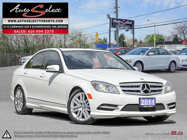 2011 MERCEDES-BENZ C-CLASS 4Matic C250 AWD ONLY 189K! **CLEAN CARPROOF** SPORT PKG in Scarborough, Ontario