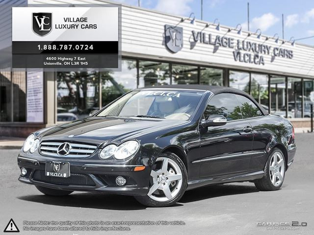 2009 MERCEDES-BENZ CLK-CLASS AMG EDITION | LOW MILEAGE | CLEAN CARPROOF | NAVIGATION | NEW CAR TRADE IN in Markham, Ontario