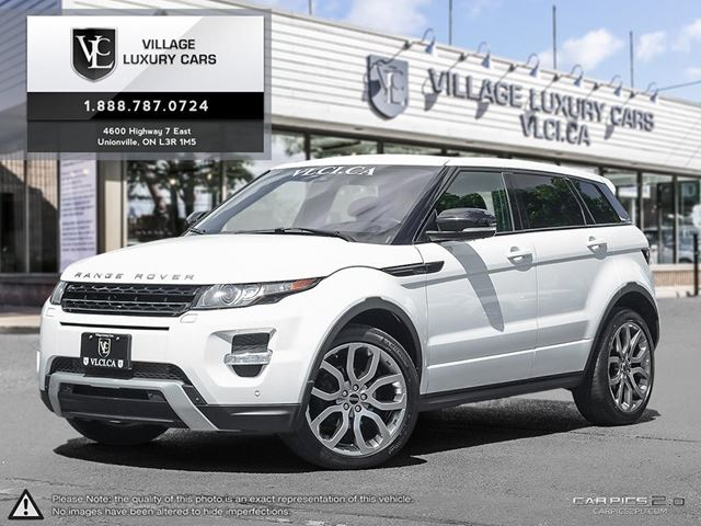 2012 LAND ROVER RANGE ROVER EVOQUE Pure Plus HEATED WINDSCREEN | NAVIGATION | REAR CAM | MERIDIAN SOUND in Markham, Ontario