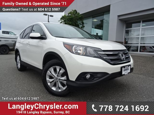 2013 HONDA CR-V EX-L LOW KMS W/ LEATHER UPHOLSTERY & SUNROOF in Surrey, British Columbia