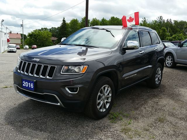 2016 JEEP GRAND CHEROKEE Limited in Orillia, Ontario