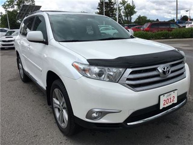 2012 Toyota Highlander V6 - Leather, Moonroof, Tinted Windows - wow! in Stouffville, Ontario