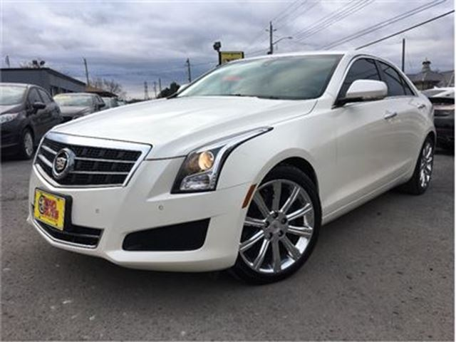 2013 CADILLAC ATS 2.0L Turbo Luxury SUNROOF LEATHER in St Catharines, Ontario
