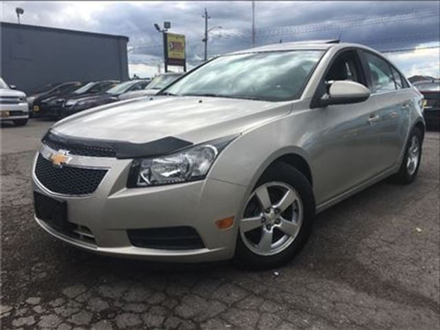 2014 Chevrolet Cruze 2LT LEATHER MOON ROOF BACK UP CAMERA in St Catharines, Ontario