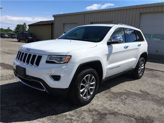 2016 Jeep Grand Cherokee Limited 4X4 in Fonthill, Ontario