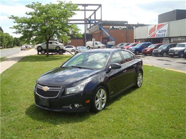 2012 Chevrolet Cruze LTZ Turbo RS ~ LEATHER ~ NAVIGATION ~ CERTIFIED ~ in Toronto, Ontario