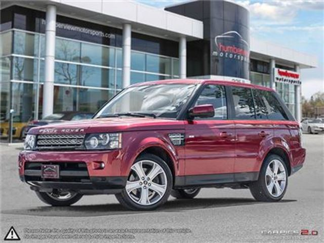 2013 Land Rover Range Rover Sport HSE in Mississauga, Ontario