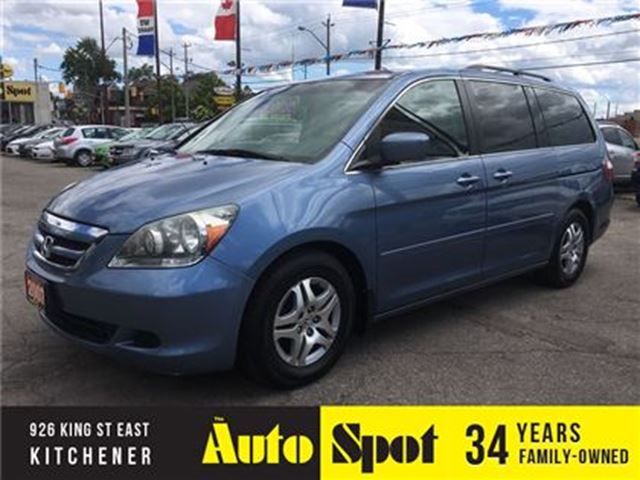 2007 Honda Odyssey EX-L/LOW, LOW KMS!/TOP OF THE LINE ODYSSEY! in Kitchener, Ontario