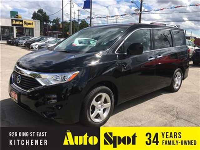 2012 Nissan Quest S in Kitchener, Ontario