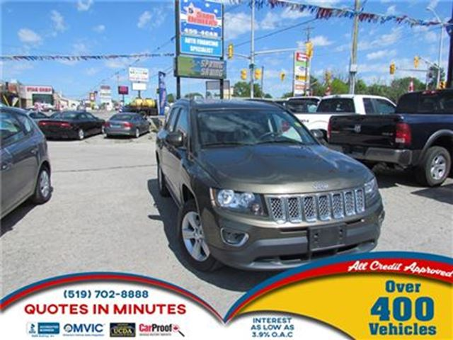 2015 JEEP Compass HIGH ALTITUDE   4X4   LEATHER   SUNROOF in London, Ontario