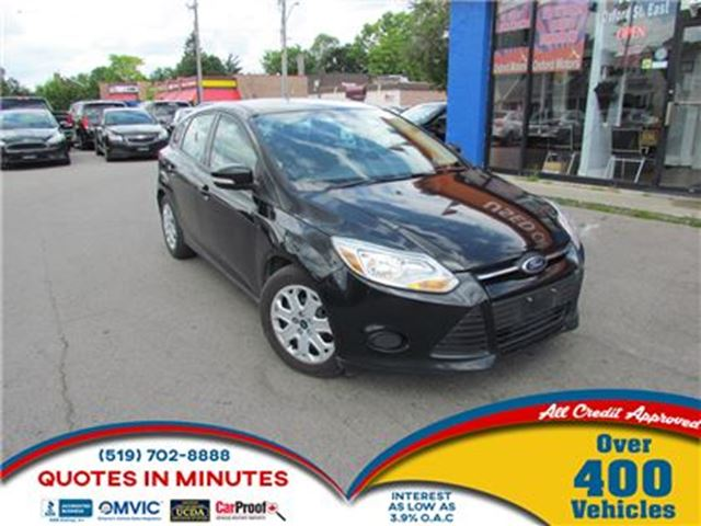 2013 FORD FOCUS SE   HATCHBACK   BLUETOOTH   SAT RADIO in London, Ontario