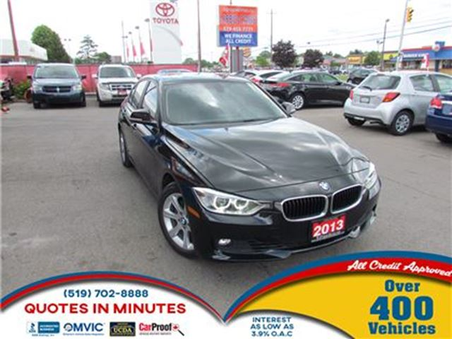 2013 BMW 3 Series 328 i i xDrive   AWD   LEATHER   SUNROOF in London, Ontario