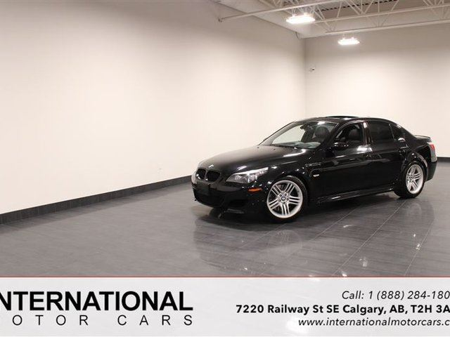 2008 BMW M5 6 SPEED! BLOWOUT PRICING!! in Calgary, Alberta