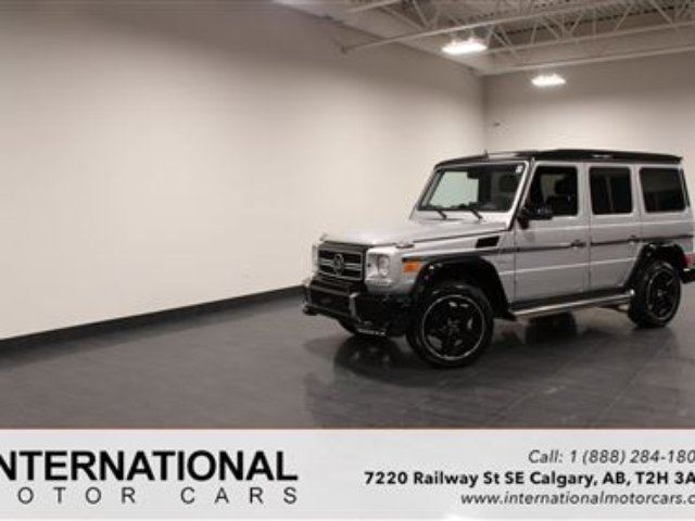 2013 MERCEDES-BENZ G-Class BRABUS KIT! BLOWOUT PRICING!! in Calgary, Alberta