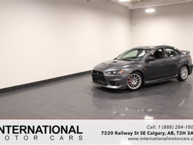 2008 MITSUBISHI LANCER EVO GSR! BLOWOUT PRICING!! in Calgary, Alberta