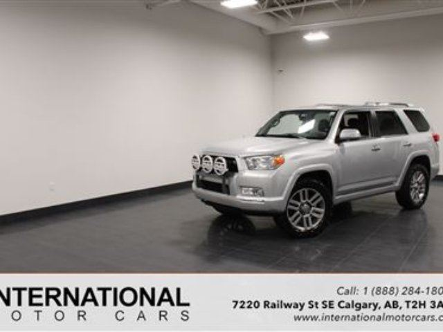 2013 TOYOTA 4Runner LIMITED! BLOWOUT PRICING!! in Calgary, Alberta