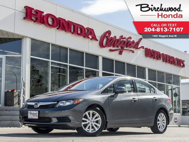 2012 Honda Civic EX in Winnipeg, Manitoba