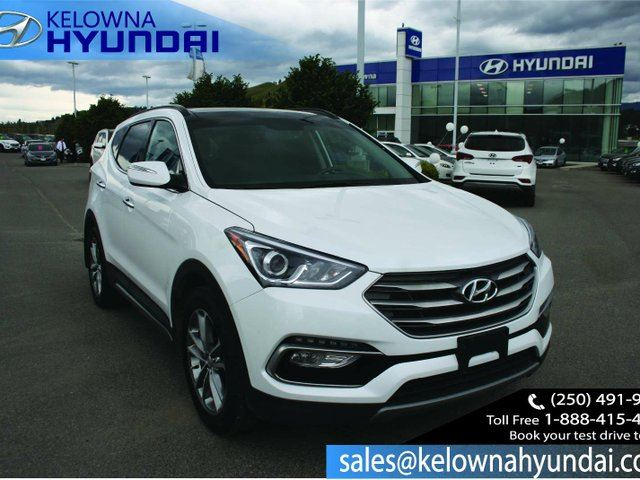 2017 HYUNDAI SANTA FE 2.0T Limited 4dr All-wheel Drive DEMO in Kelowna, British Columbia