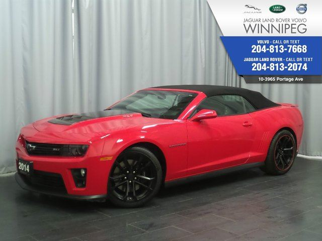 2014 Chevrolet Camaro ZL1 *A RARE ZL1* *FOR SERIOUS BUYERS ONLY* in Winnipeg, Manitoba