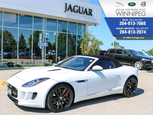 2016 Jaguar F-TYPE S *LOCAL ONE OWNER* *LOW KM* in Winnipeg, Manitoba