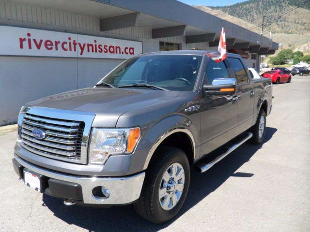 2011 FORD F-150 XLT 4x4 SuperCrew Cab 5.5 ft. box 145 in. WB in Kamloops, British Columbia