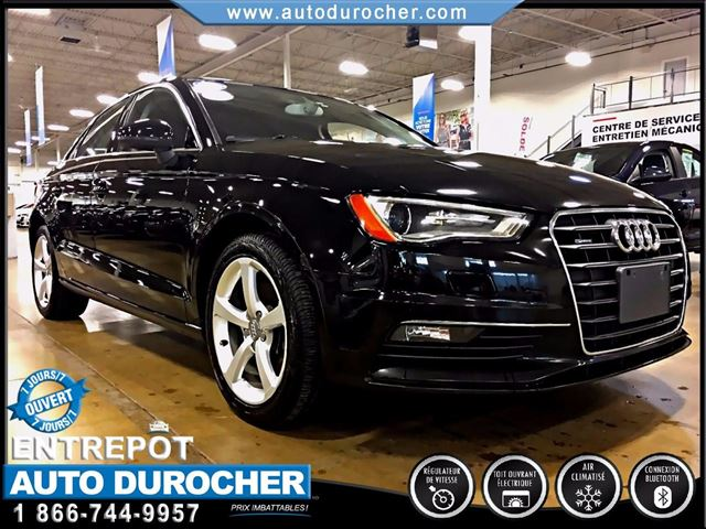 2015 AUDI A3 QUATTRO - CUIR - TOIT OUVRANT - MAGS in Laval, Quebec