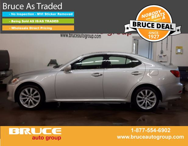 2008 Lexus IS 250 2.5L 6 CYL AUTOMATIC AWD 4D SEDAN in Middleton, Nova Scotia