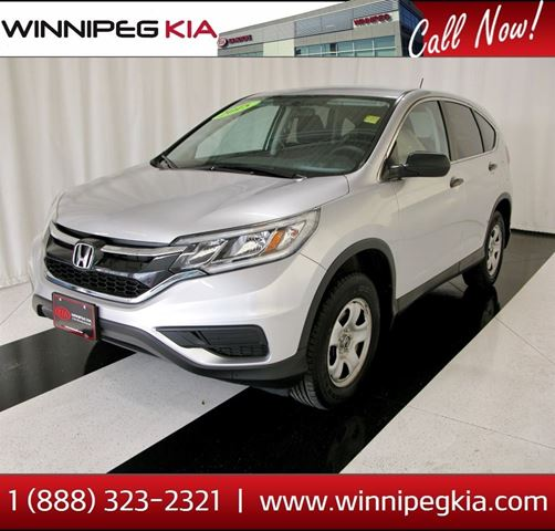 2015 Honda CR-V LX in Winnipeg, Manitoba