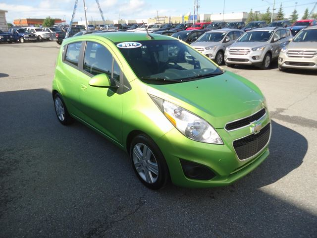 used 2014 chevrolet spark 1lt rimouski. Black Bedroom Furniture Sets. Home Design Ideas