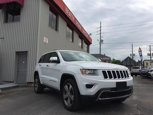 2016 Jeep Grand Cherokee Limited in Brockville, Ontario