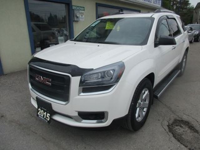 2015 GMC ACADIA LOADED SLE-2 EDITION 8 PASSENGER 3.6L - V6.. AW in Bradford, Ontario