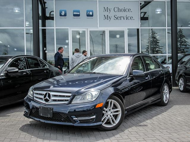 2013 Mercedes-Benz C-Class C300 4MATIC Sedan in Ottawa, Ontario