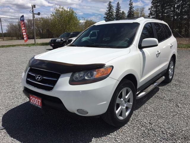 2007 HYUNDAI SANTA FE GLS LEATHER SUNROOF LOADED AWD in Newmarket, Ontario