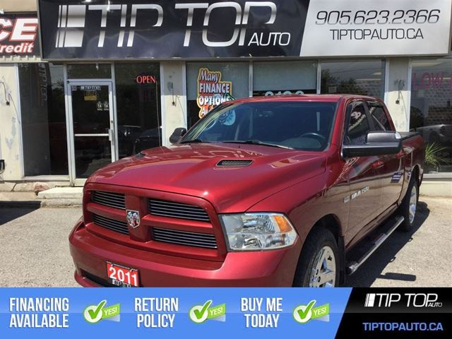 2011 Dodge RAM 1500 Sport ** Crew Cab, Sunroof, 4X4, Hemi, Tow Pack in Bowmanville, Ontario